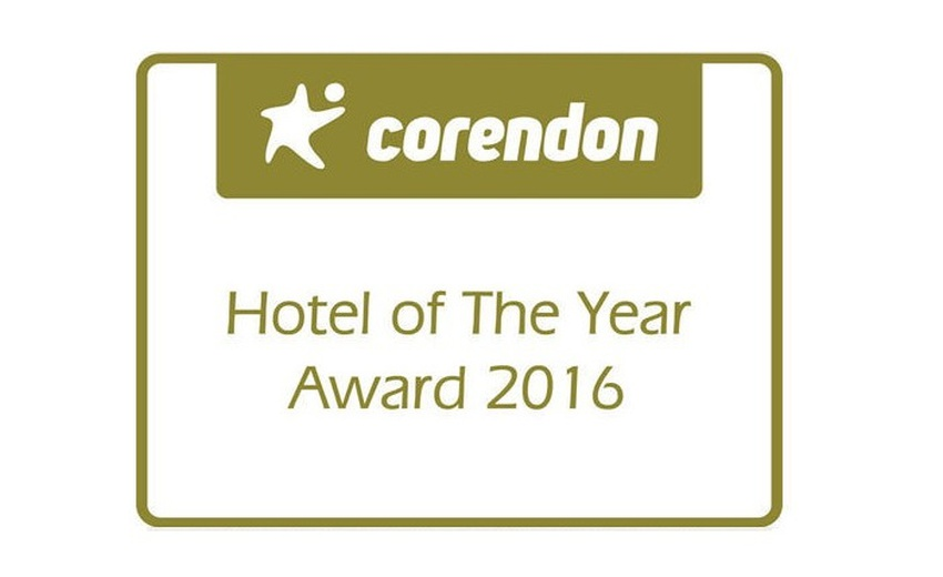 CORENDON HOTEL OF THE YEAR 2016 AWARD Balaia Golf Village Hotel Albufeira